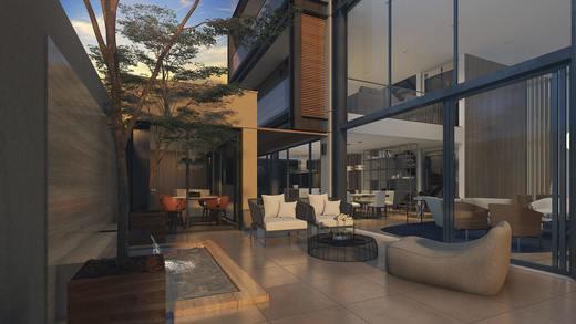 Area externa - Casa em Condomínio 4 quartos à venda Alto de Pinheiros, Zona Oeste,São Paulo - R$ 7.243.185 - II-3092-9448 - 23