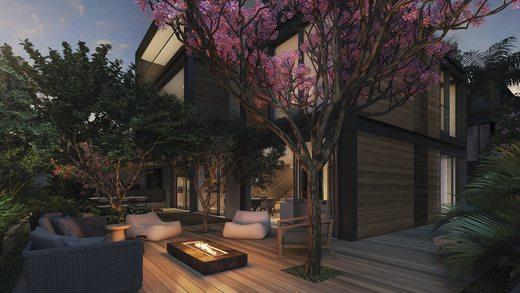 Fire place - Casa em Condomínio 4 quartos à venda Alto de Pinheiros, Zona Oeste,São Paulo - R$ 7.243.185 - II-3092-9448 - 25