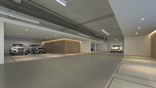 Garagem - Casa em Condomínio 4 quartos à venda Alto de Pinheiros, Zona Oeste,São Paulo - R$ 7.243.185 - II-3092-9448 - 27