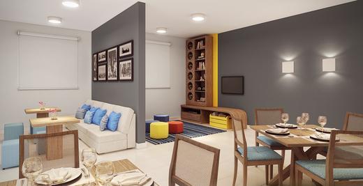 Salao de festas - Fachada - Condomínio Maxi - 492 - 6