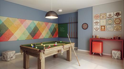 Salao de jogos - Fachada - Condomínio Maxi - 492 - 7