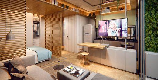 Living - Apartamento 1 quarto à venda Pinheiros, São Paulo - R$ 840.673 - II-3143-9547 - 6
