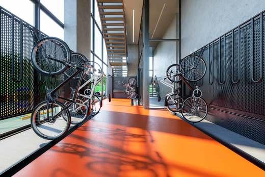 Bicicletario - Fachada - Core Pinheiros Home - 127 - 12