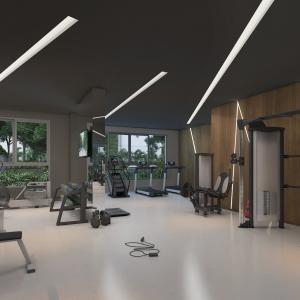 Fitness - Fachada - Arte Arquitetura Vila Mariana - 128 - 5