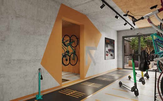 Bicicletario - Fachada - K360 Humberto I Home - 133 - 27