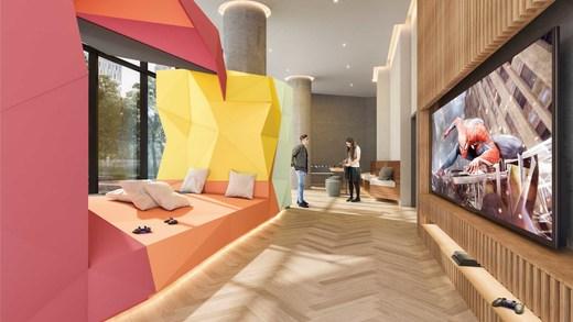 Sala de jogos - Fachada - VN Millennium Faria Lima - 513 - 17