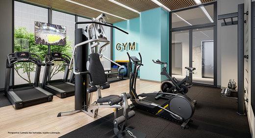 Fitness - Sala Comercial 22m² à venda Rua Artur de Azevedo,Pinheiros, São Paulo - R$ 651.900 - II-3822-10566 - 9