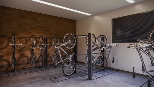 Bicicletario - Fachada - Le Parc Itaim - 517 - 10