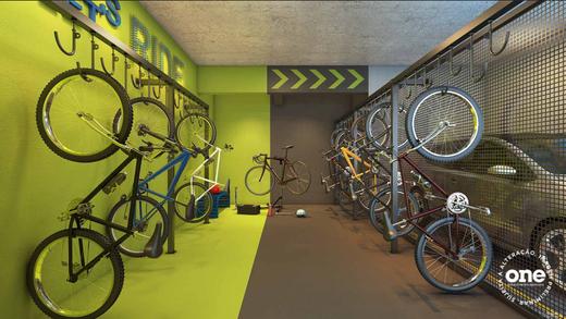 Bicicletario - Fachada - Auge Jardim da Saúde - 518 - 11