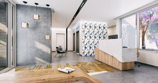 Hall social - Studio à venda Avenida Ibirapuera,Moema, São Paulo - R$ 497.000 - II-4002-10832 - 7
