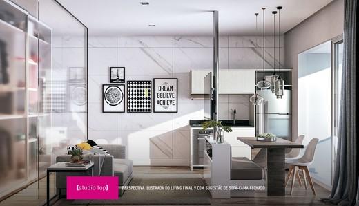 Living - Studio à venda Avenida Ibirapuera,Moema, São Paulo - R$ 497.000 - II-4002-10832 - 10
