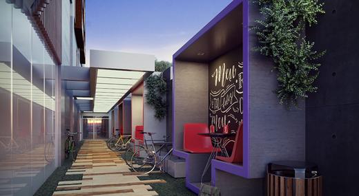 Bicicletario - Studio à venda Avenida Ibirapuera,Moema, São Paulo - R$ 497.000 - II-4002-10832 - 13