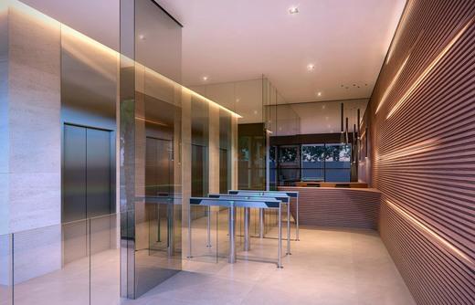 Hall - Sala Comercial 64m² à venda Avenida Chibarás,Moema, São Paulo - R$ 1.214.920 - II-4134-11102 - 4