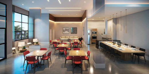 Salao de festas - Fachada - Heaven Design - 533 - 9