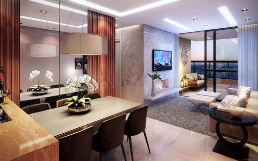 Living - Casa em Condomínio à venda Rua Ituxi,Planalto Paulista, São Paulo - R$ 842.100 - II-4145-11127 - 4