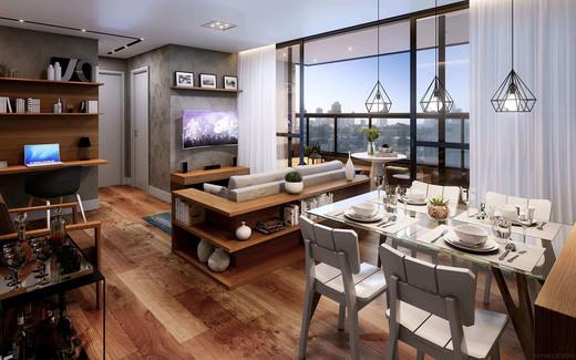 Living - Casa em Condomínio à venda Rua Ituxi,Planalto Paulista, São Paulo - R$ 842.100 - II-4145-11127 - 5