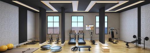 Fitness - Casa em Condomínio à venda Rua Ituxi,Planalto Paulista, São Paulo - R$ 842.100 - II-4145-11127 - 7