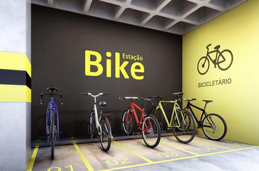 Bicicletario - Casa em Condomínio à venda Rua Ituxi,Planalto Paulista, São Paulo - R$ 842.100 - II-4145-11127 - 14