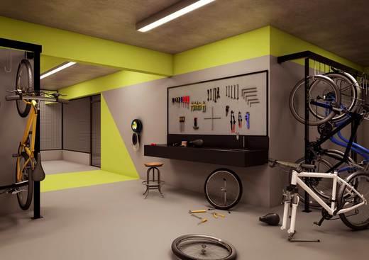 Bicicletario - Studio à venda Rua Diogo de Faria,Vila Mariana, São Paulo - R$ 270.000 - II-4141-11113 - 13