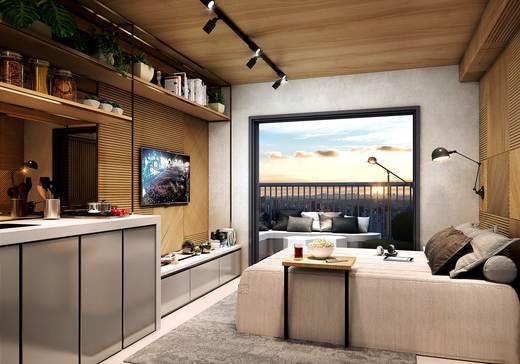 Living - Studio à venda Rua Diogo de Faria,Vila Mariana, São Paulo - R$ 270.000 - II-4141-11113 - 6