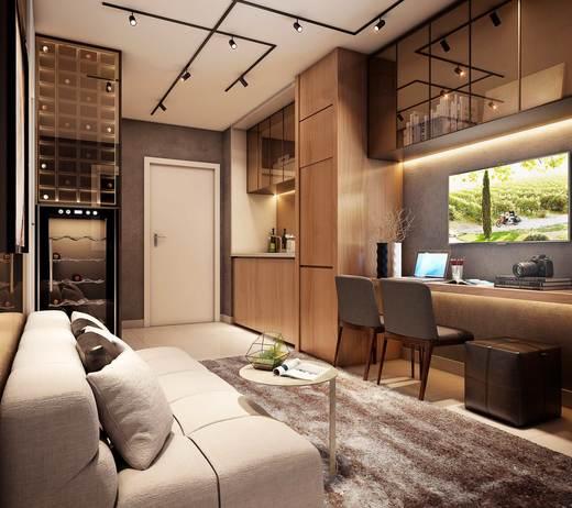 Living - Studio à venda Rua Diogo de Faria,Vila Mariana, São Paulo - R$ 270.000 - II-4141-11113 - 7