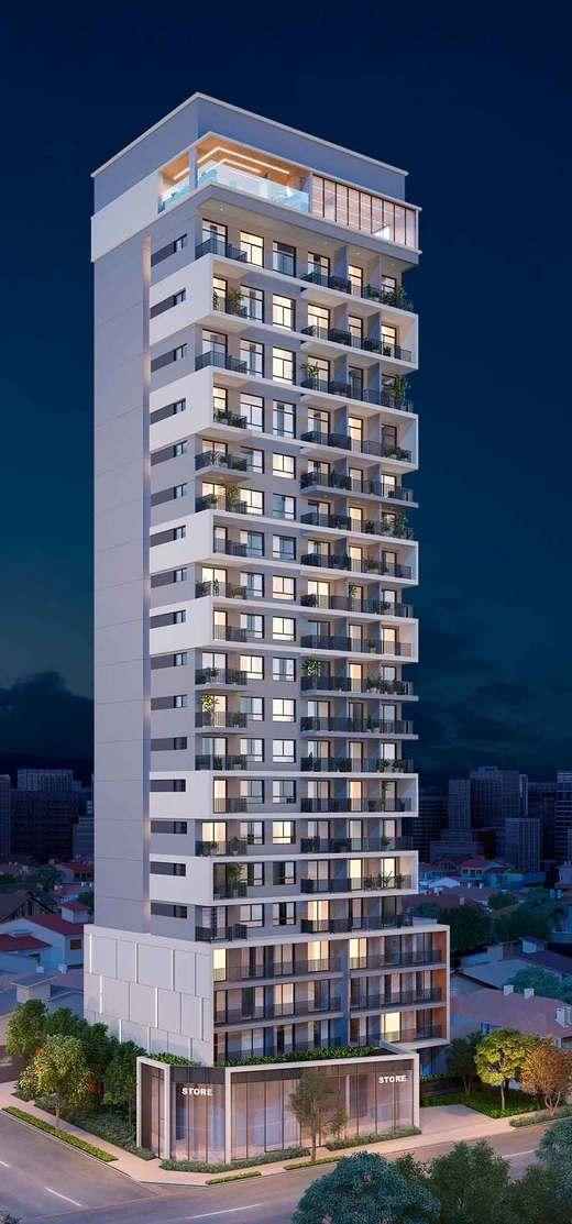 Fachada - Studio à venda Rua Cubatão,Vila Mariana, São Paulo - R$ 419.900 - II-4167-11153 - 1