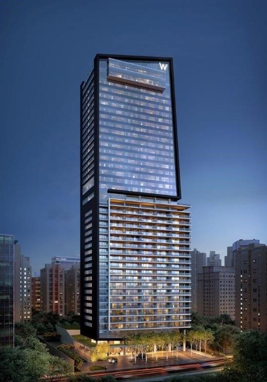 Fachada - Fachada - W Residences São Paulo - 550 - 1