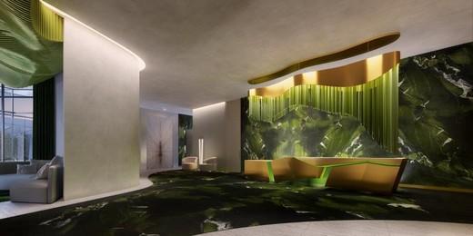 Hall - Fachada - W Residences São Paulo - 550 - 4