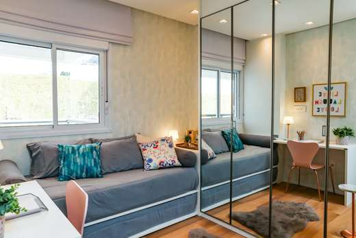 Dormitorio solteiro 64m2 - Fachada - Up Life Conceição - 542 - 8