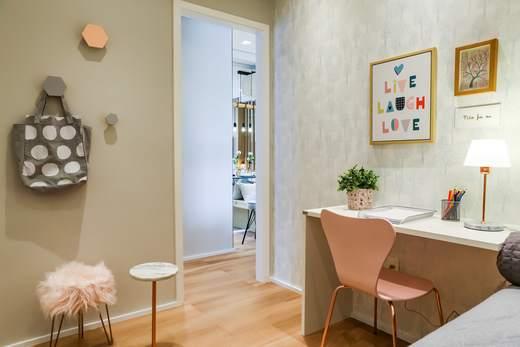 Dormitorio solteiro 64m2 - Fachada - Up Life Conceição - 542 - 9
