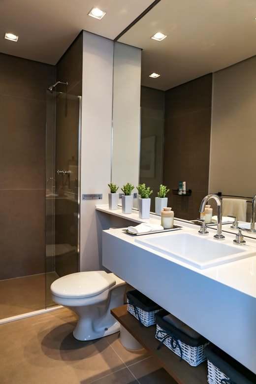 Banheiro 64m2 - Fachada - Up Life Conceição - 542 - 11