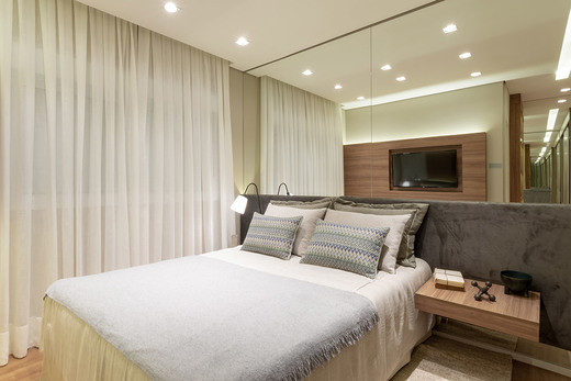 Dormitorio - Fachada - Linea Home Resort Tatuapé - 155 - 10