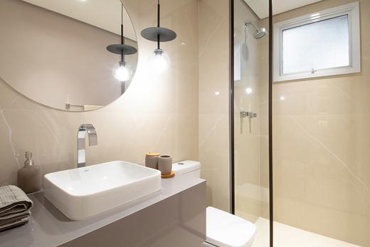 Banheiro - Fachada - Linea Home Resort Tatuapé - 155 - 12