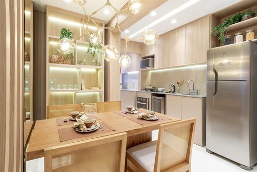 Cozinha - Fachada - Linea Home Resort Tatuapé - 155 - 9