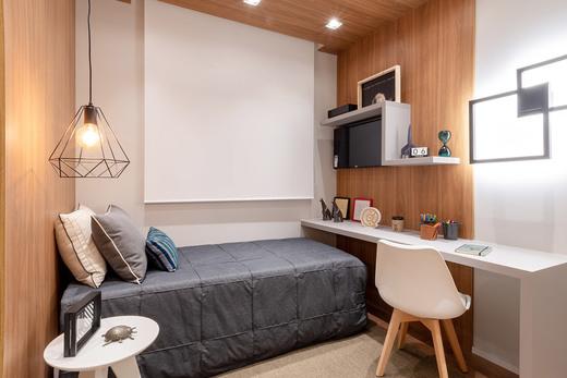 Dormitorio - Fachada - Linea Home Resort Tatuapé - 155 - 11