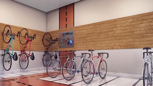 Bicicletario - Cobertura à venda Rua Cotoxó,Perdizes, São Paulo - R$ 4.659.843 - II-4308-26246 - 13