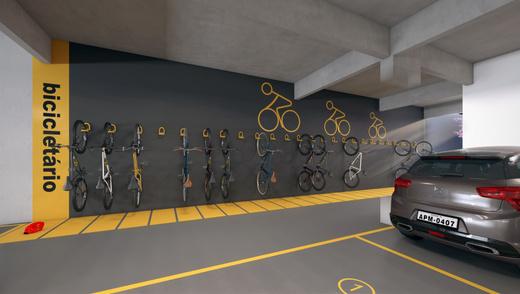 Bicicletario - Fachada - AP Moema Carinás - 157 - 11