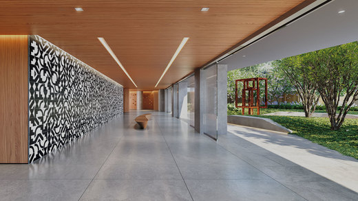 Hall - Fachada - Alameda Jardins - 571 - 3