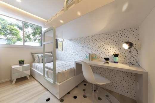 Dormitorio - Fachada - Elev Barra Funda - 572 - 7