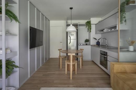 Living - Apartamento 1 quarto à venda Vila Madalena, São Paulo - R$ 1.047.500 - II-4571-11844 - 8