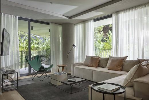 Living - Apartamento 1 quarto à venda Vila Madalena, São Paulo - R$ 1.047.500 - II-4571-11844 - 9
