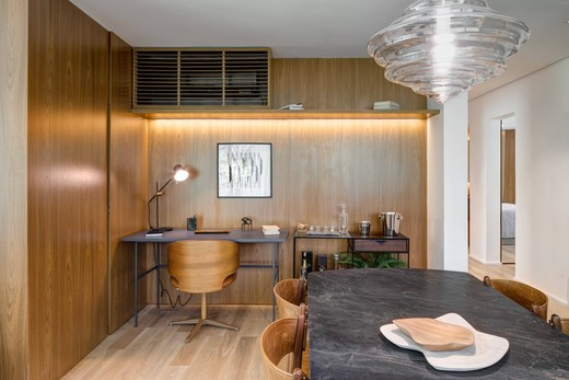 Living - Apartamento 1 quarto à venda Vila Madalena, São Paulo - R$ 1.047.500 - II-4571-11844 - 11