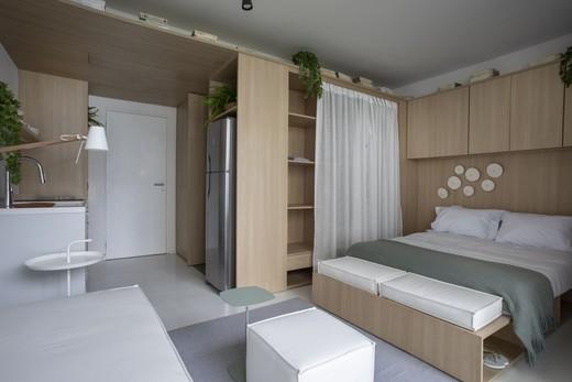 Living - Apartamento 1 quarto à venda Vila Madalena, São Paulo - R$ 1.047.500 - II-4571-11844 - 7