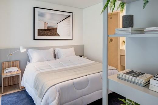 Dormitorio - Apartamento 1 quarto à venda Vila Madalena, São Paulo - R$ 1.047.500 - II-4571-11844 - 19