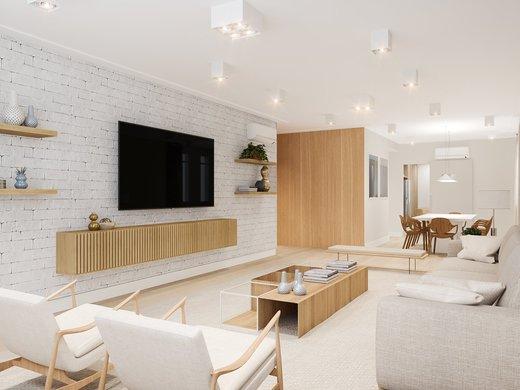 Apartamento à venda Rua João Lourenço,Vila Nova Conceição, Zona Sul,São Paulo - R$ 3.606.000 - II-4674-11958 - 1
