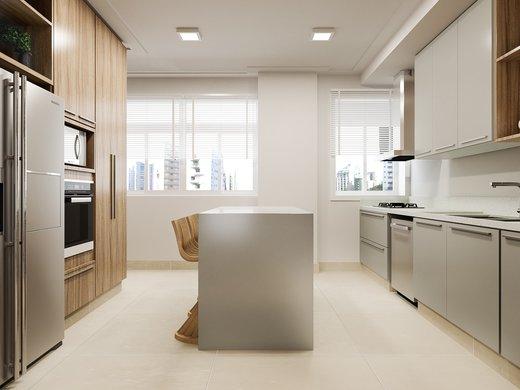 Cozinha - Apartamento à venda Rua José Maria Lisboa,Jardim América, São Paulo - R$ 3.290.000 - II-4723-12007 - 4