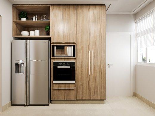 Cozinha - Apartamento à venda Rua José Maria Lisboa,Jardim América, São Paulo - R$ 3.290.000 - II-4723-12007 - 5