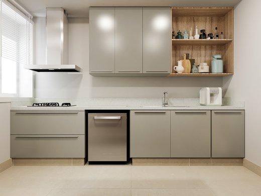 Cozinha - Apartamento à venda Rua José Maria Lisboa,Jardim América, São Paulo - R$ 3.290.000 - II-4723-12007 - 6