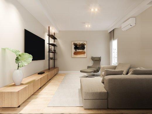 Living - Apartamento à venda Rua José Maria Lisboa,Jardim América, São Paulo - R$ 3.290.000 - II-4723-12007 - 8