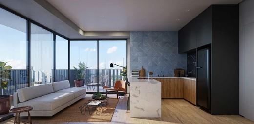 Living - Apartamento 1 quarto à venda Vila Madalena, São Paulo - R$ 1.047.500 - II-4571-11844 - 12